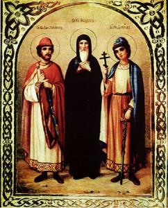 Феодор, Давид и Константин