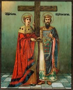 Обретение Честного Креста и гвоздей
