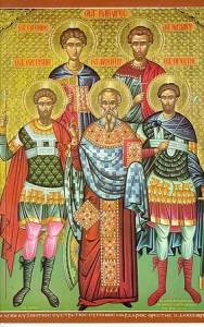 Пяточисленные мученики