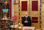 Торжественное богослужение в Храме Христа Спасителя в двенадцатую годовщину интронизации Святейшего Патриарха Кирилла